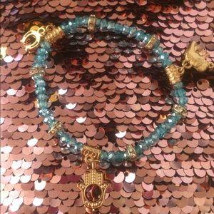Stunning Crystal good luck & protection bracelet